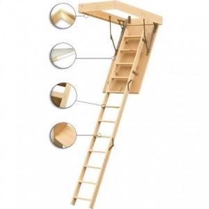 Фото лестницы чердачной Standart 60х120