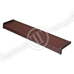 Фото Водоотлив стальной 0,5 мм коричневый (от 90 до 350 мм)