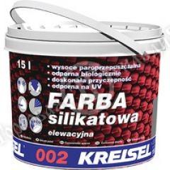 Фото краски фасадной силикатной 002 (база D) 15л (21кг)